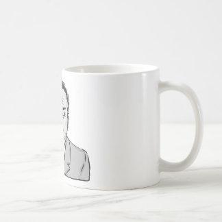 Vintage Criminal Sketch Coffee Mug