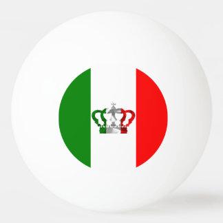 Vintage Crown Modern Italy Italian Flag Ping Pong Ball