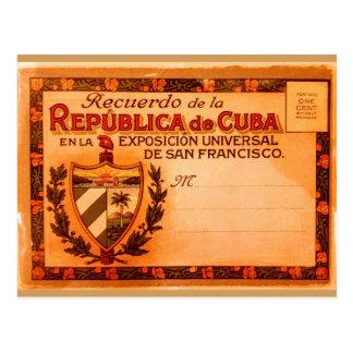 Vintage Cuba Postcard 1915