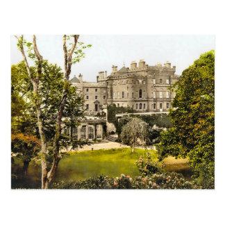 Vintage Culzean Castle Scotland Postcard