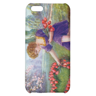 Vintage Cupid Heart Love 1920s Cover For iPhone 5C