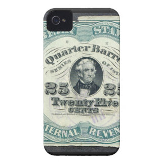 Vintage Currency iPhone 4 Case-Mate Case