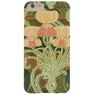 Vintage Curvy Floral Art Nouveau Barely There iPhone 6 Plus Case