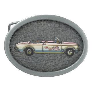 Vintage Custom 1964 Chevrolet Corvair 700 Converti Belt Buckle