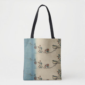 Vintage Custom All-Over-Print Tote Bag