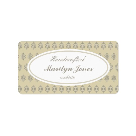 Vintage Custom Business Labels