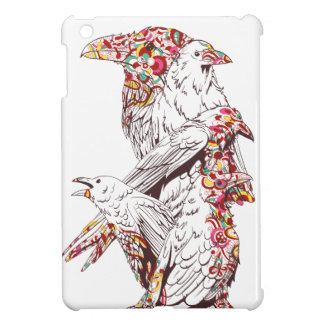 vintage cute parrots and animals case for the iPad mini