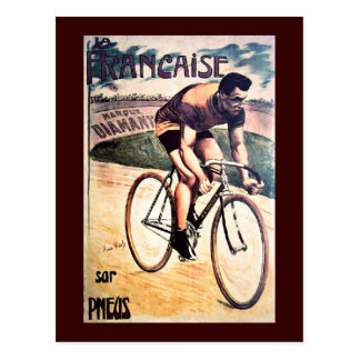 Vintage Cycling graphic bicycle Post Cards