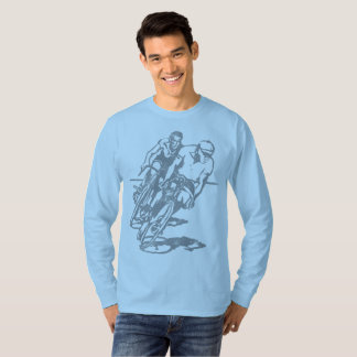 Vintage Cyclists - retro bicycle racers T-Shirt