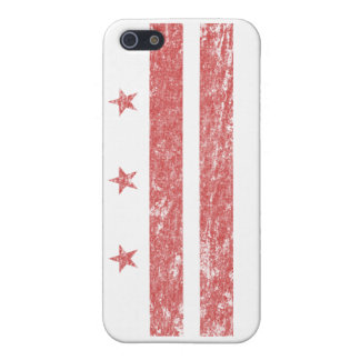 Vintage D.C. Flag iPhone 5/5S Cover