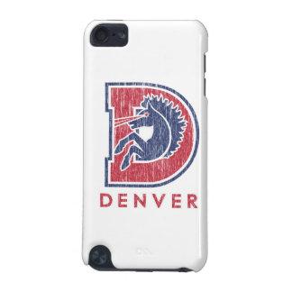 Vintage D Denver Logo iPod Touch 5G Covers
