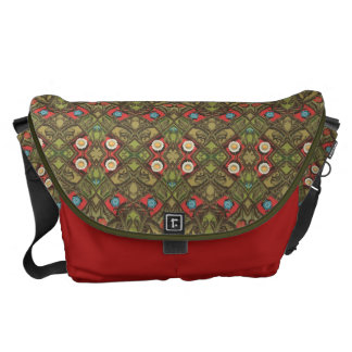 Vintage Daisy Floral Courier Bags