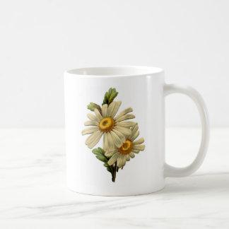 Vintage Daisy Coffee Mugs