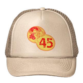 Vintage Dancer 45th Birthday Gifts Cap
