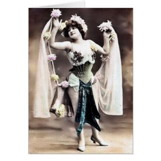 Vintage Dancer Card