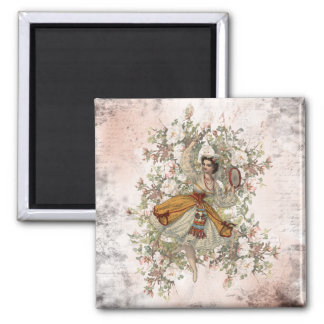 Vintage Dancing Gypsy Floral Mix and Match Magnet