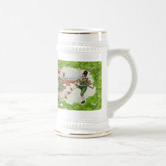 Vintage Dancing Irish Couple Coffee Mug