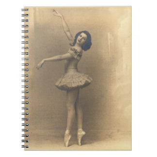 Vintage dancing notebook