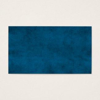 Vintage Dark Blue Paper Parchment Personalized Business Card