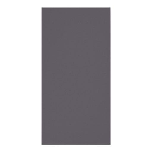 Vintage Dark Mauve Purple Color Trend Template Photo Greeting Card