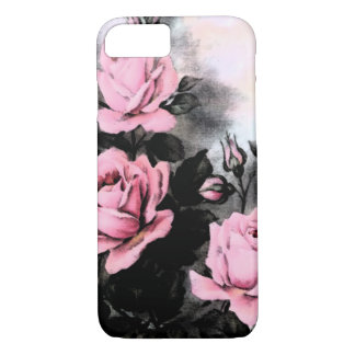 Vintage Dark Roses iPhone 7 Case