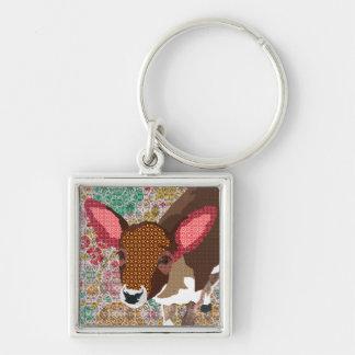 Vintage Darling Deer Keychain
