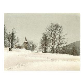 Vintage Davos, Switzerland - Postcard