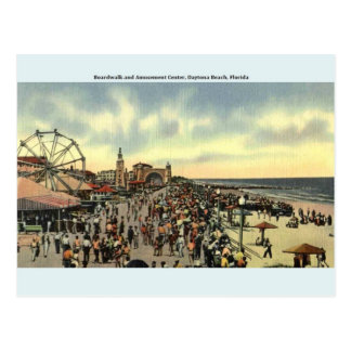 Vintage Daytona Beach Florida Postcard
