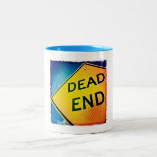 Vintage Dead End Coffee and Tea Mug