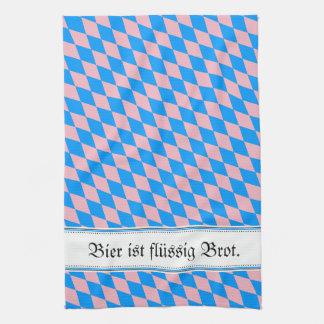 Vintage, decay and Bavarian! Tea Towel