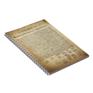 Vintage Declaration of Independence Notebooks
