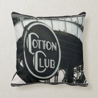 Vintage Deco Cotton Club  Pillow