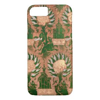 Vintage Decorative Batik Mythology Pattern iPhone 8/7 Case