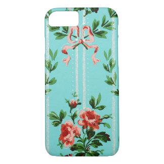 Vintage Decorative Flowers, Retro Floral Pattern iPhone 8/7 Case