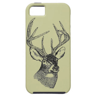 Vintage Deer big buck iPhone 5 Covers