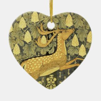 Vintage Deer Rabbit Chestnut Tree 1902 Christmas Tree Ornaments