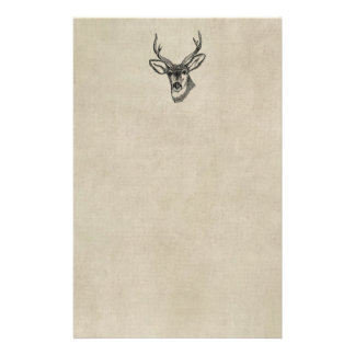 Vintage Deer Stationery