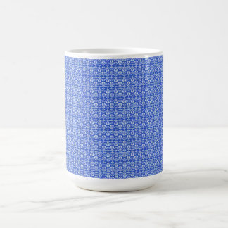 Vintage-Delights-Blue-Stylish-Timeless-Multi-Style Coffee Mug