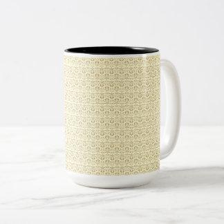 Vintage-Delights-Heavy-Cream-Multi-Styles Two-Tone Coffee Mug