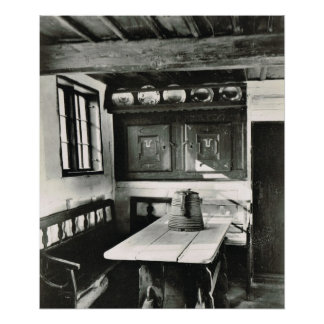 Vintage  Denmark, Friland Museum Posters