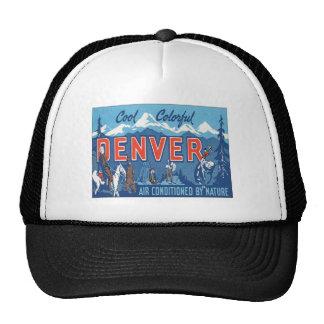 Vintage Denver Colorado Hat