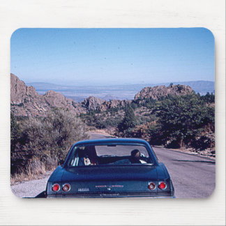 Vintage Desert Car Mouse Pad
