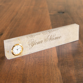 Vintage design. Add your text. Nameplate
