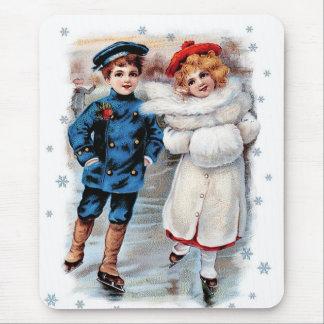 Vintage Design Christmas Gift Mousepad