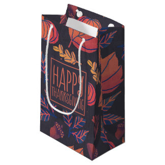 Vintage Design Happy Thanksgiving | Gift Bag