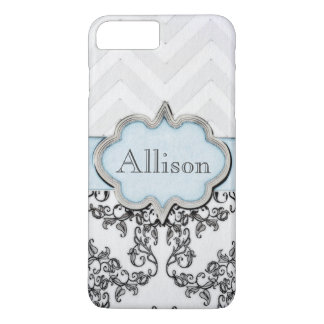 Vintage Design with Name by Leslie Harlow iPhone 7 Plus Case