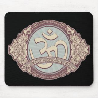 Vintage Devanagari OM Logo Mousepad
