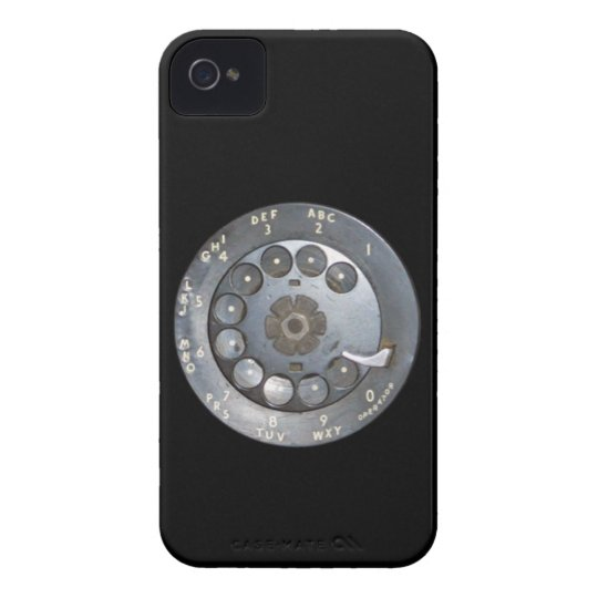 Vintage dial phone iPhone4 case-mate case