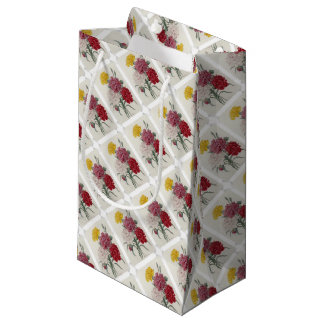 Vintage Dianthus - Photo Album Small Gift Bag