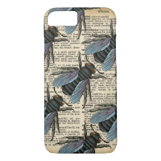 Vintage Dictionary Bug Phone iPhone 7 Case